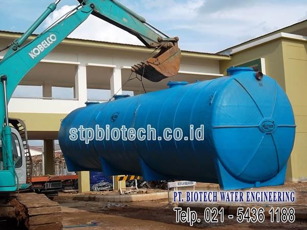 instalasi pengolahan air limbah ramah lingkungan